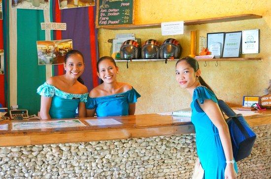 Coco Grove Beach Resort : le front desk