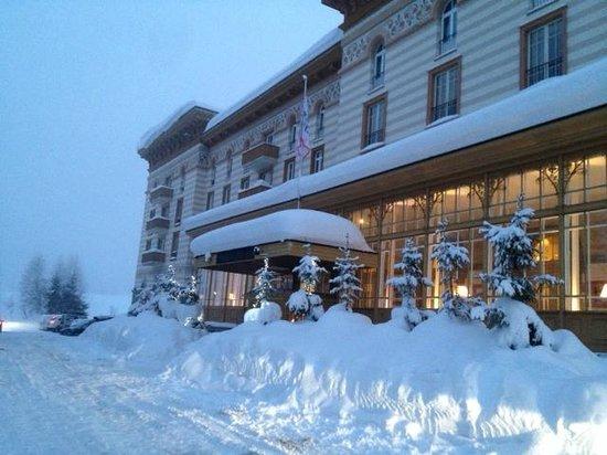 Maloja Palace Hotel : 30/12/2013 Maloja Palace