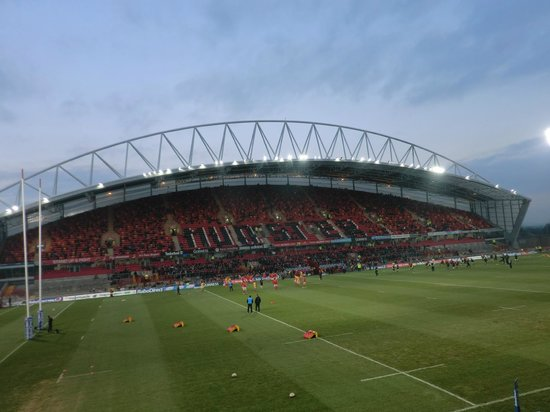 Thomond Park Stadium: Thomand Park - East stand