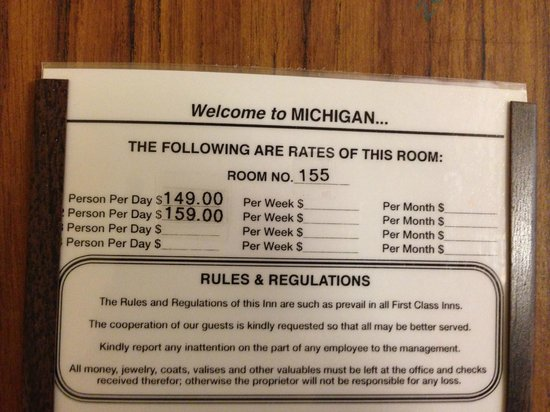 Ramada Lansing Hotel And Conference Center: Could you imagine paying these rates for this nightmare, I think not.