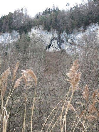 Naturschutzgebiet Wichenstein: Ruine Wichenstein
