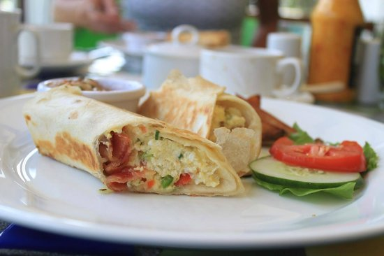 Mount Cinnamon Resort & Beach Club : Breakfast Burrito