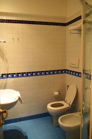 Hotel Colombia: バスルーム