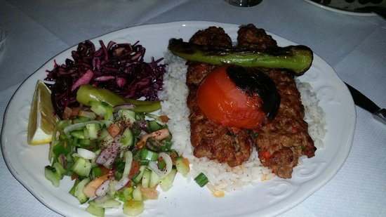Ekin Restaurant : The best Adana kebab.
