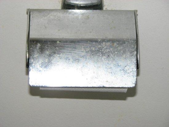 Diamant Beach: Toilettenpapierhalter