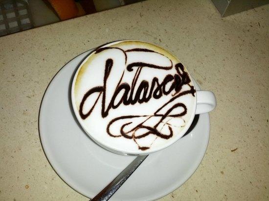 Tosca Cafe : Caffè personalizzato....