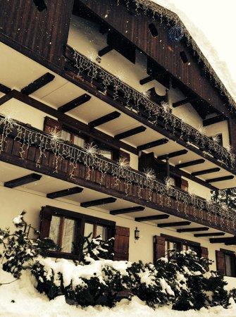 Lajadira Hotel: Giornata di neve