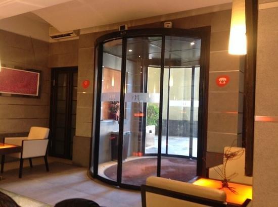 Mercure Torino Crystal Palace : ingresso