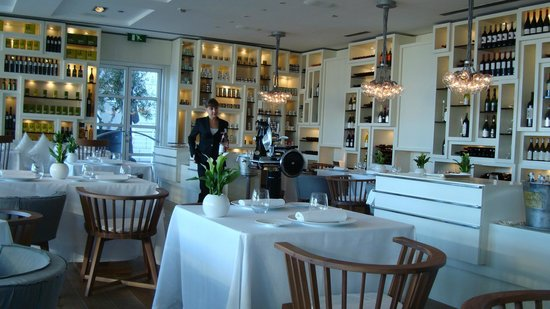 Hotel Arts Barcelona: Enoteca Restaurant. Very famous Paco Perez. If you like your dinner prepared in a test tube.