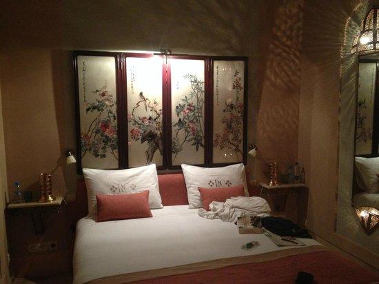 Riad Camilia, Maison d'hôtes : Beautiful Chinese screen