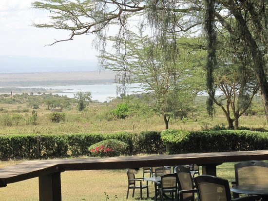 Elementaita Country Lodge: View from the dining area