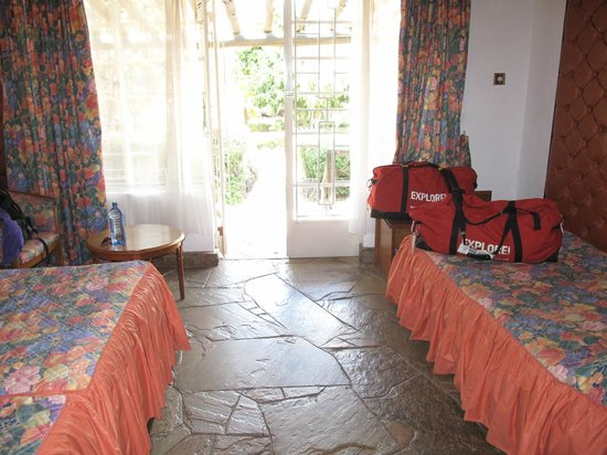Elementaita Country Lodge: Our room