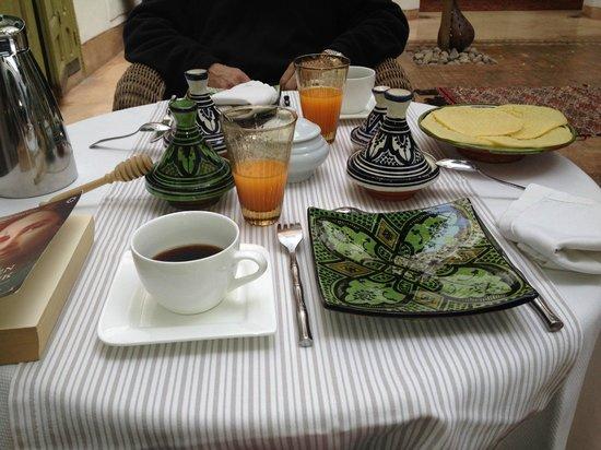 Riad Camilia: Enjoy breakfast