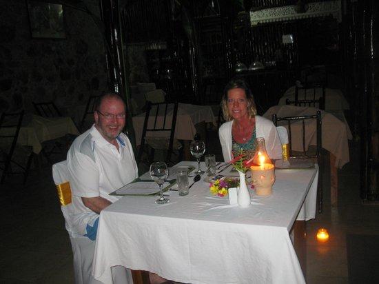 Fond Doux Plantation & Resort : Candlelit dinner
