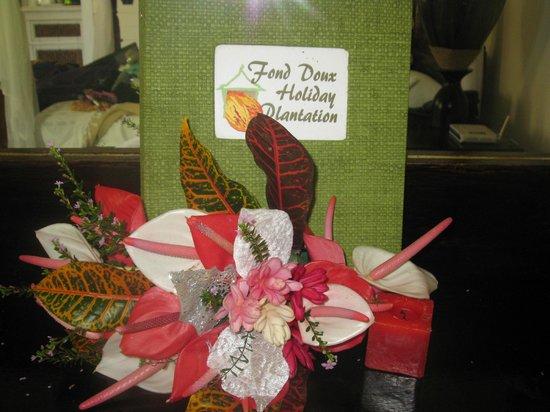 Fond Doux Plantation & Resort : Bouquet