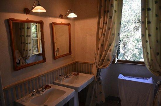 Fattoria e Villa di Rignana: Badezimmer Fattoria di Rignana