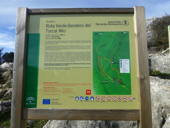 El Torcal Natural Park: Map walks
