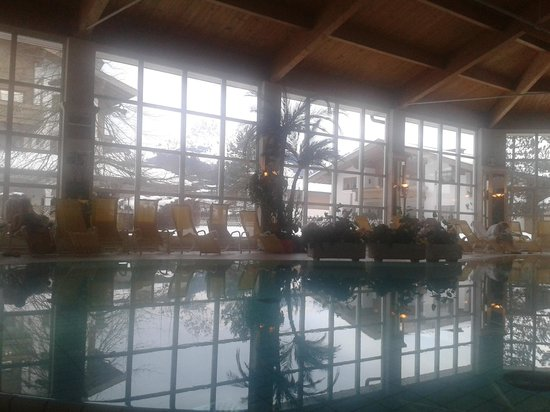 Cordial Golf & Wellness Hotel Reith: View from swimming pool