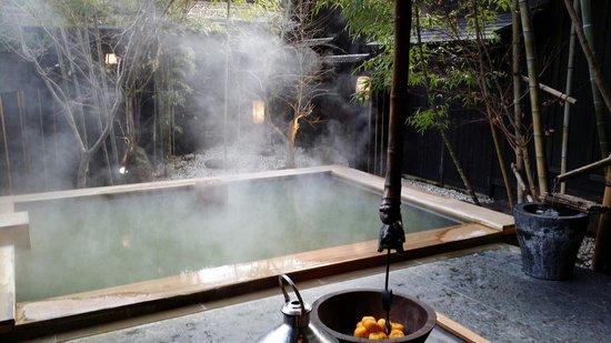 Takefue: inroom onsen in Omachian