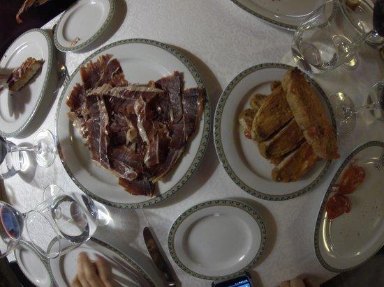 El Bon Raco Bar & Restaurant: Jambon du pais