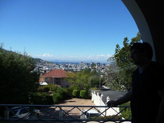 De Tafelberg Guesthouse: Ausblick Terrasse