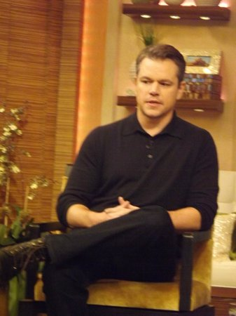 Live with Kelly and Michael: Matt Damon promoting Monuments Men