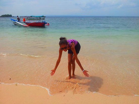 lombok pink beach by.healyn