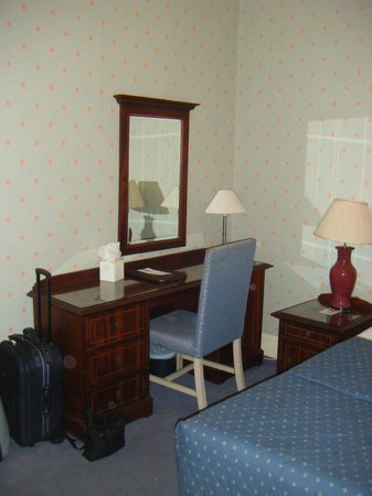 The Gainsborough Hotel: Bedrom furniture - and chair was broken