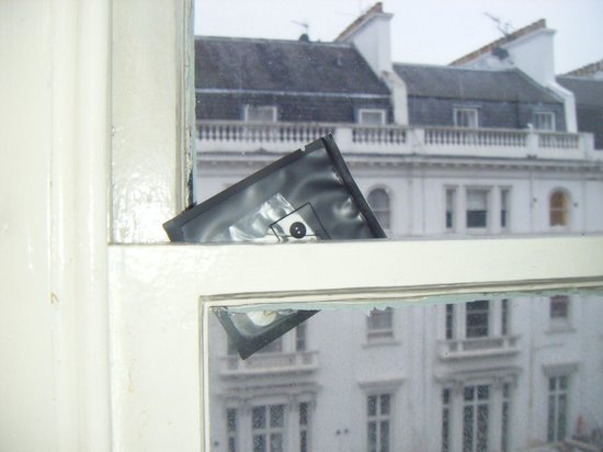 The Gainsborough Hotel: To stop the windows rattling!
