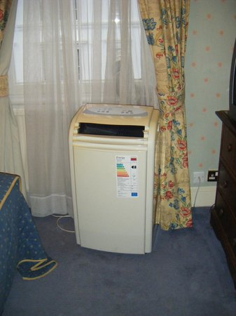The Gainsborough Hotel: The air conditioning unit - thank goodness it wasn't hot