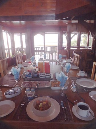 Oyster Creek Lodge : wonderful breakfast
