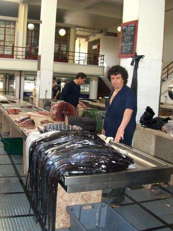 Fischmarkt Funchal Picture Of Workers Market Mercado
