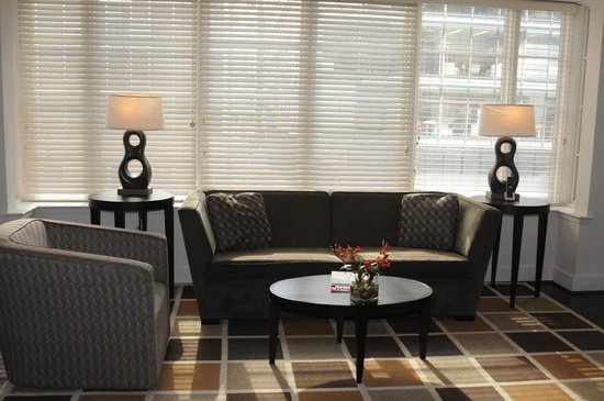 AKA White House: Living room area in the 2-bedroom suite