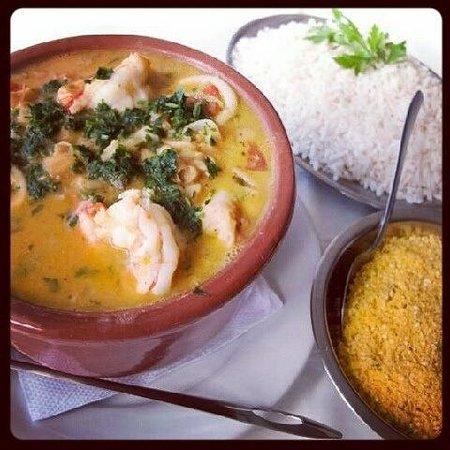 Restaurante O Farol: Feijoada de Frutos do mar!!! Uma delicia de prato, tudo muito fresquinho e um sabor sem igual!!