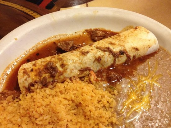Acapulco Mexican Restaurant: Pork burrito at $5 for lunch special191760766