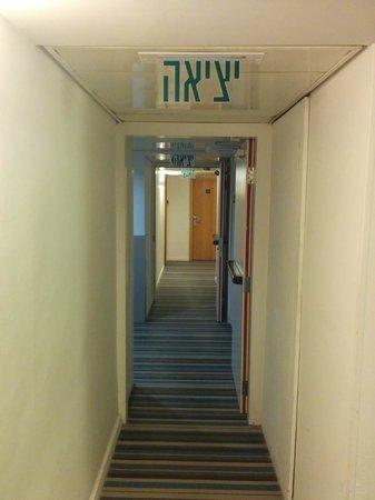 Hotel Prima City Tel Aviv : Hallway floor 1