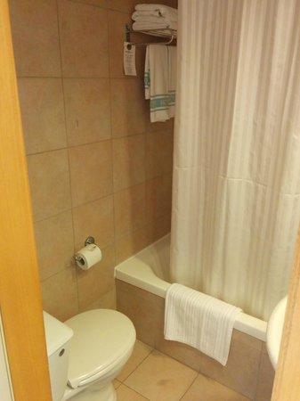 Hotel Prima City, Tel Aviv : Small but enough