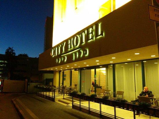 Hotel Prima City Tel Aviv: Hotel entrance