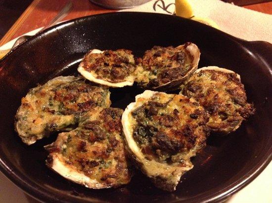 Joe's Crab Shack: Oysters Rockefeller