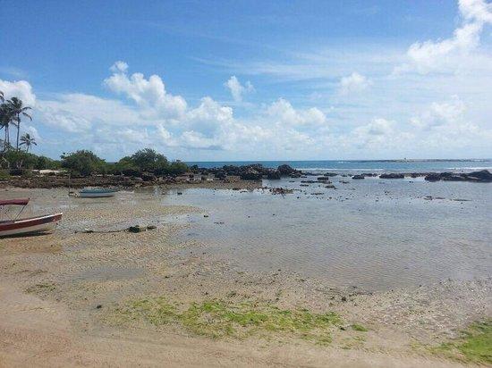 Terceira Praia Beach: Maré baixa na terceira praia