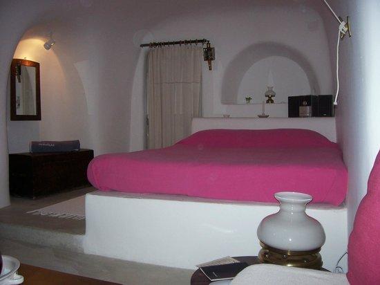 Quarto Hotel Perivolas/OIA/Santorini