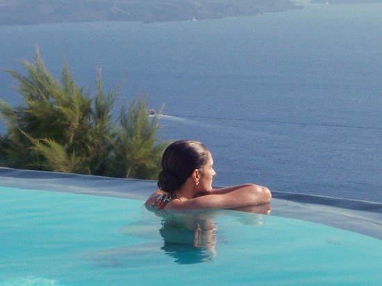 Piscina Hotel Perivolas/OIA/Santorini