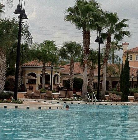 WorldQuest Orlando Resort : View from Building 2, third floor room