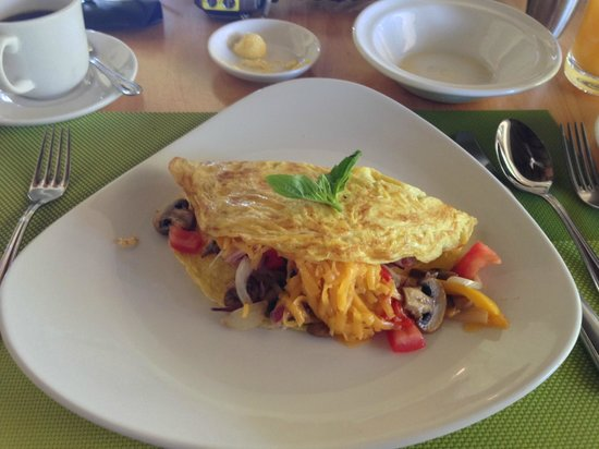 Shamwari Game Reserve Lodges: Omelette