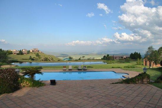 Gooderson Kloppenheim Country Estate Hotel : vista dall hotel