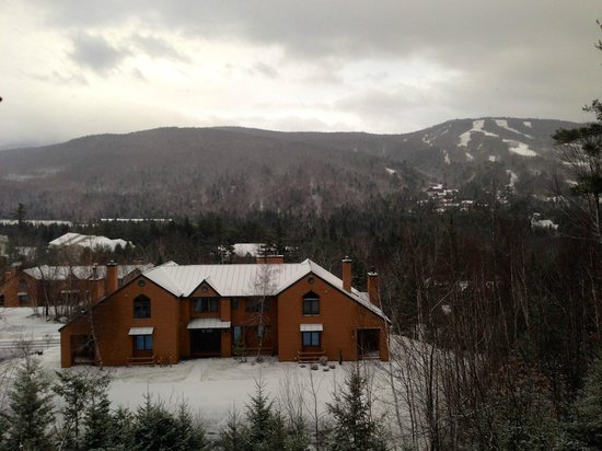 The Townhomes at Bretton Woods: Early morning after the snowfall