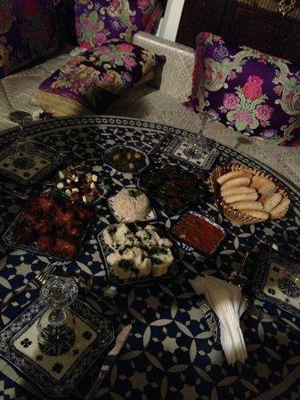 Riad Rcif: Appetizers