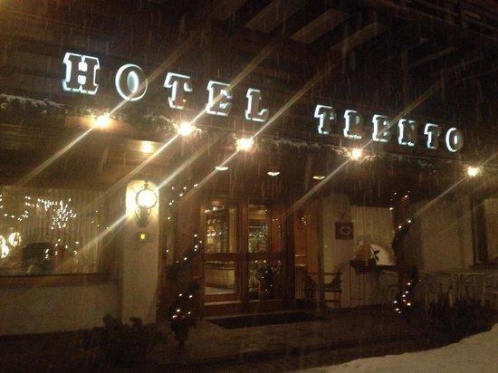 Hotel Trento : Ingresso hotel