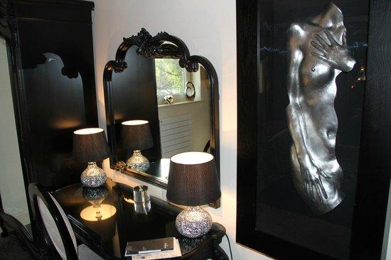 Cranleigh Boutique: Dresser in the bedroom