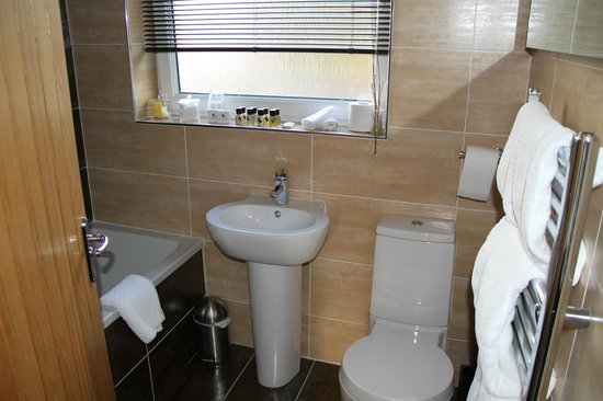 Cranleigh Boutique: Fully equipped bathroom, although very small